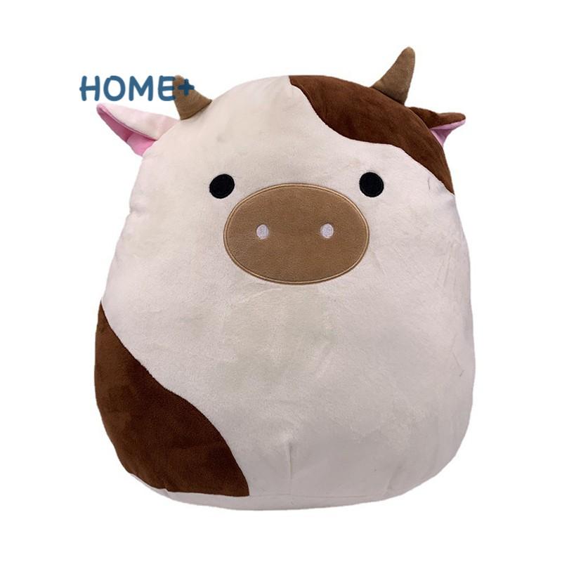 Thú Nhồi Bông Hình Bò Sữa Đáng Yêu