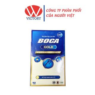 BOCA GOLD Viên Uống Hỗ Trợ Giảm Triệu Chứng Đau Xương Khớp 1 Lọ 60 viên – Victory Pharmacy
