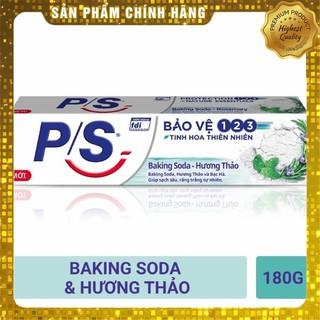 Kem đánh răng P/S Bảo vệ 123 Baking soda hương thảo 180g