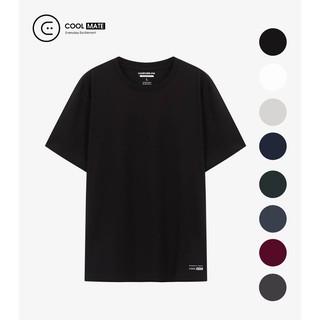 Áo thun nam Cotton Compact phiên bản Premium chống nhăn Coolmate