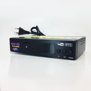 Đầu thu kỹ thuật số DVB-T2 Hùng Việt TS-123 kết nối được Youtube, IPTV