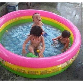 Bể bơi cầu vồng tròn