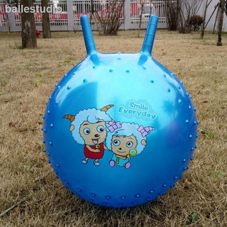 ✲❣[buy 1, get 4] claw thickening increase kindergarten explosion-proof children bouncy ball yoga baby toys