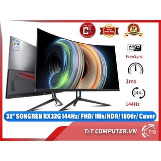 Màn Hình Gaming Songren 32 inch cong 144hz newbox 100%