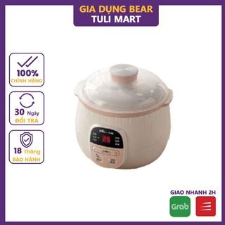 Nồi nấu chậm 0,8L Bear đa năng nấu cháo, hầm, ninh lõi bằng gốm cao cấp giữ nhiệt lâu Gia dụng Bear Tuli Mart thumbnail
