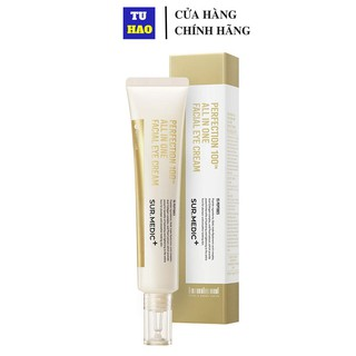Kem Dưỡng Chống Lão Hóa Cải Thiện Nếp Nhăn Vùng Mắt Sur.Medic Perfection 100™ All In One Facial Eye Cream 35g