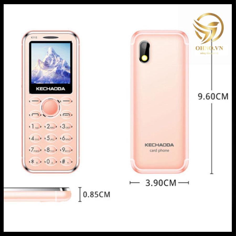 Điện Thoại Di Động Mini Kiêm Tai nghe Bluetooth K115 Điện Thoại Siêu Nhỏ Cho Trẻ Em – OHNO Việt Nam