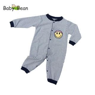 Bộ Bodysuit Dài Giữ Ấm Bé Sơ Sinh Baby Bean