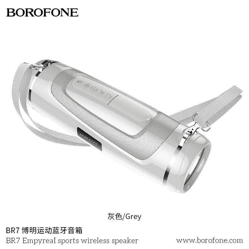 Loa Bluetooth Mini Borofone BR7 5.0 có đèn pin siêu sáng siêu tiện lợi