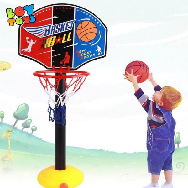 Bộ đồ chơi bóng rổ mini phát triển chiều cao cho trẻ khỏe mạnh