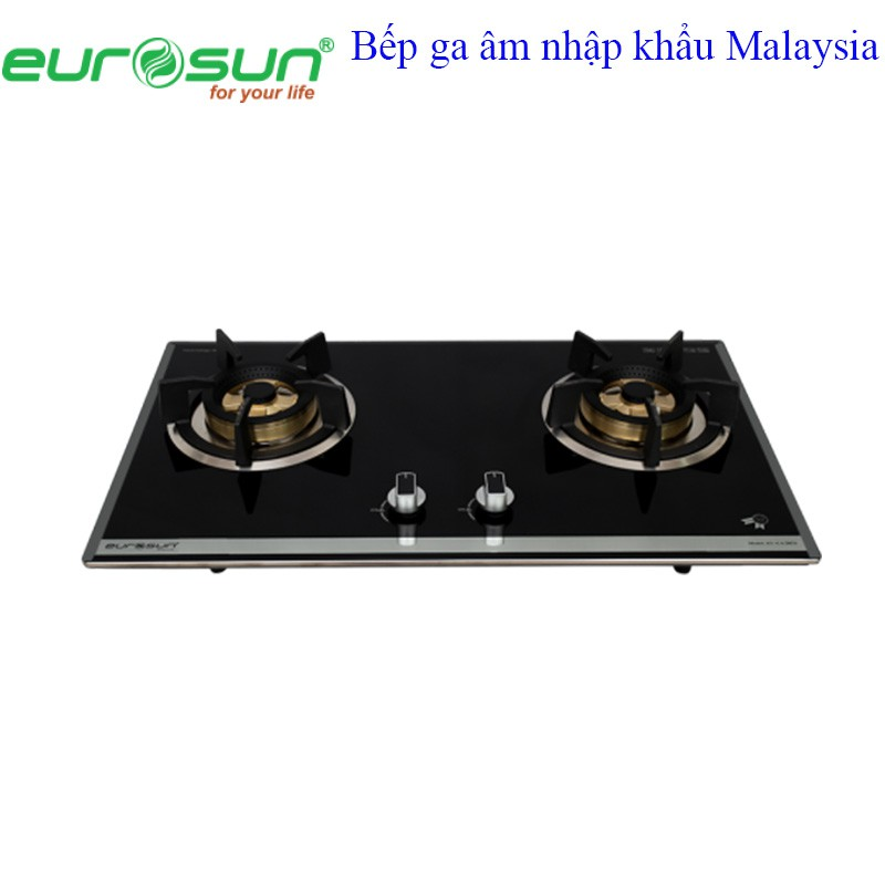 Bếp ga âm 2 lò EUROSUN EU - GA205S nhập khẩu Malaysia - 3461273 , 1255378916 , 322_1255378916 , 7140000 , Bep-ga-am-2-lo-EUROSUN-EU-GA205S-nhap-khau-Malaysia-322_1255378916 , shopee.vn , Bếp ga âm 2 lò EUROSUN EU - GA205S nhập khẩu Malaysia