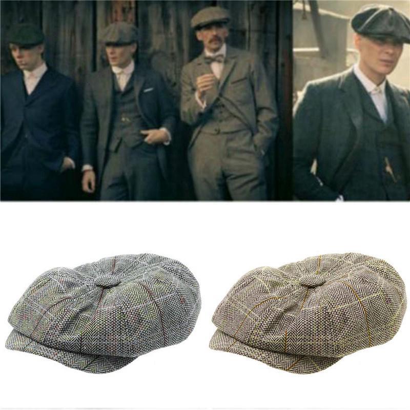 Mũ beret phong cách thám tử cổ điển sang trọng cá tính dành cho nam