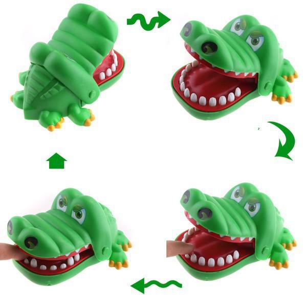 GIÁ HOT HÀNG MỚI NHẬP đồ chơi Cá sấu cắn tay - trò chơi khám răng cá sấu MỚI VỀ KHUYẾN MÃI