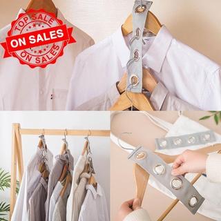 Ruimtebesparend Hanger Plastic Doek Hanger Haak Magic Haak Kleerhanger Closet Met Organizer O8L3