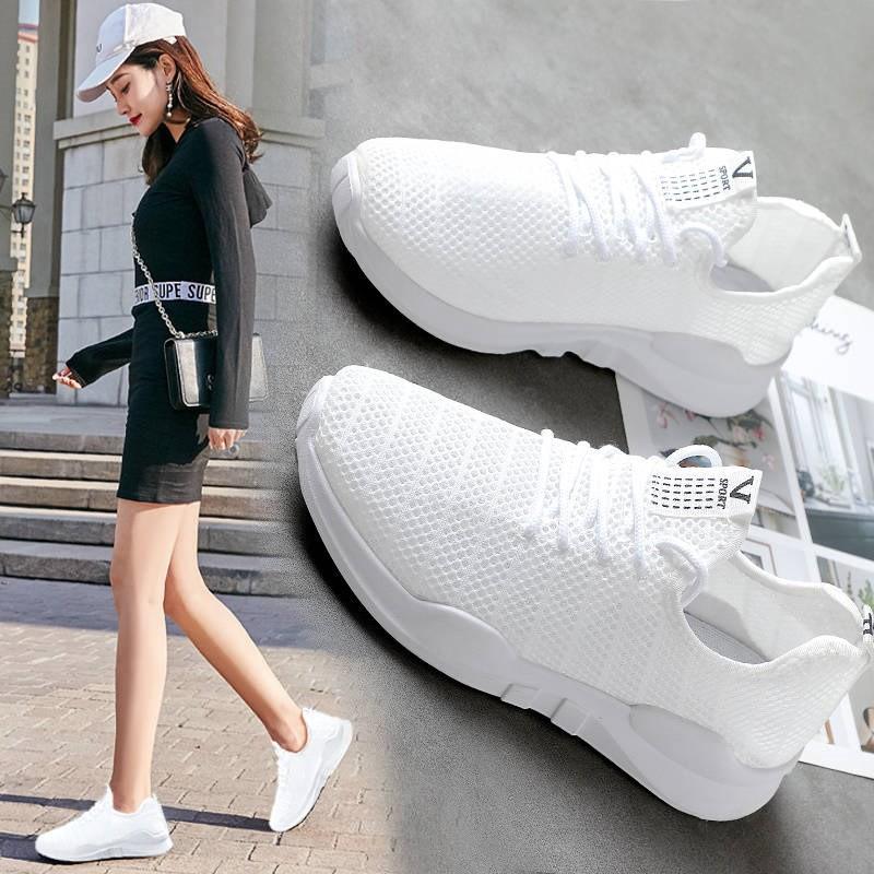 Giày Thể Thao Vải Sợi cực mềm 2019( hình thật + video)