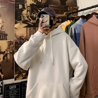 Hình ảnh Áo hoodie IFNICEFUTURE dài tay có mũ trùm đầu thời trang dành cho nam-2