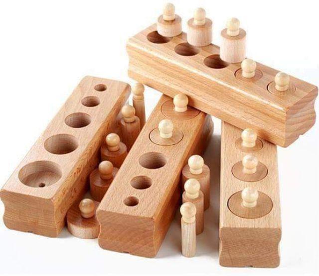 Set đồ chơi giáo dục theo phương pháp Montessori