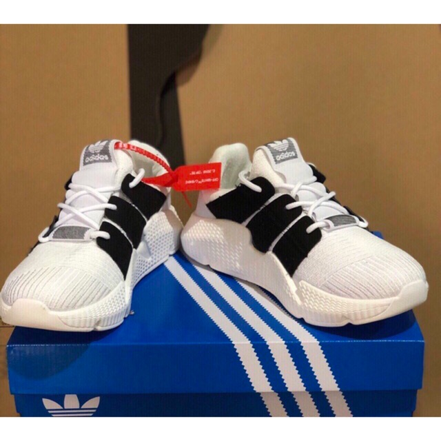 [⚡️LASH SALE] Giày sneaker Prophere trắng sọc đen nam nữ