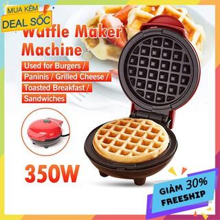 Máy Làm Bánh Quế Waffle Ngon Mini Tiện Lợi Dễ Sử Dụng thumbnail