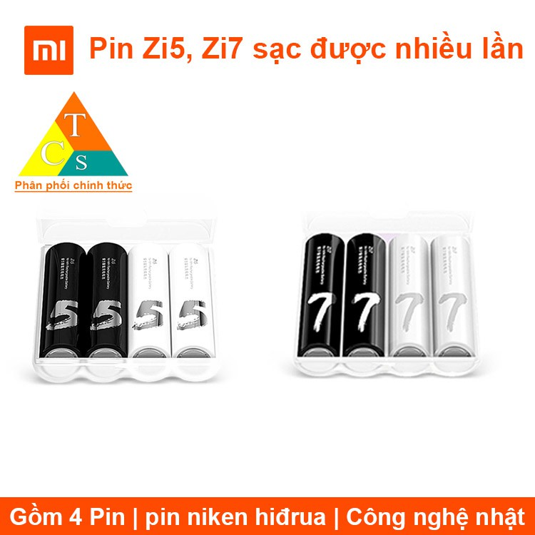 Pin AAA Xiaomi Zi7 sạc được nhiều