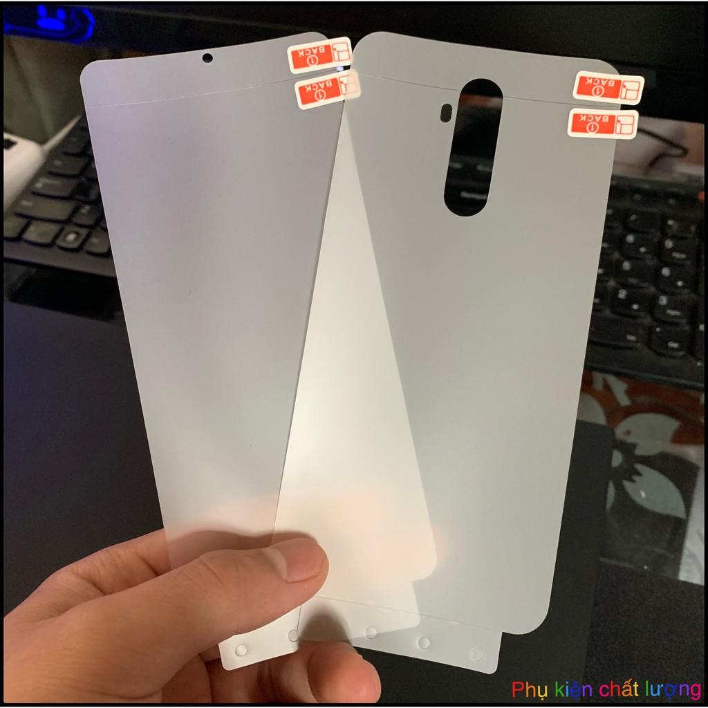 Miếng Dán PPF Realme X2 Pro / Realme X50 / Realme X7 /X7 Pro / Realme X2 3 lớp chống trầy sước