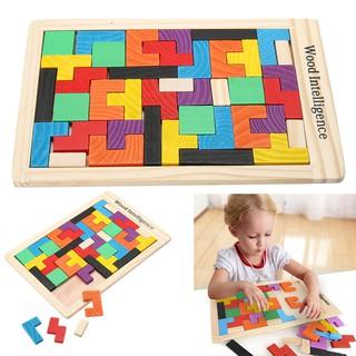 Bé Đầy Màu Sắc Puzzle Clock Đồ Chơi Giáo Dục Đồ Chơi Bằng Gỗ Bộ Đồ Chơi Lắp Ghép Bằng Gỗ Cho Bé