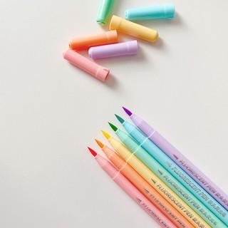 Hình ảnh Set 6 bút đánh dấu Winzige màu sắc ngọt ngào-5