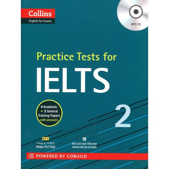 Sách - Practice Tests For IELTS 2 (Kèm CD) - 9786045831854 - 3454467 , 1255203111 , 322_1255203111 , 208000 , Sach-Practice-Tests-For-IELTS-2-Kem-CD-9786045831854-322_1255203111 , shopee.vn , Sách - Practice Tests For IELTS 2 (Kèm CD) - 9786045831854
