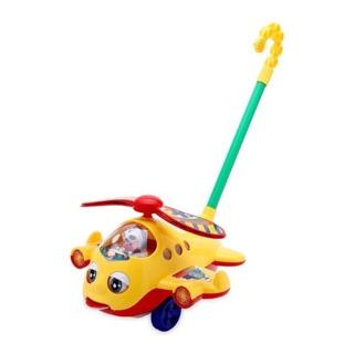[CÓ NHẠC] Đồ chơi máy bay đẩy cỡ lớn dành cho bé