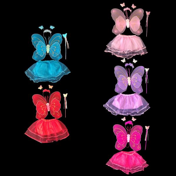 4 PCS/Set Children Dresses Stage Costume for Halloween Cosplay Show Party J979