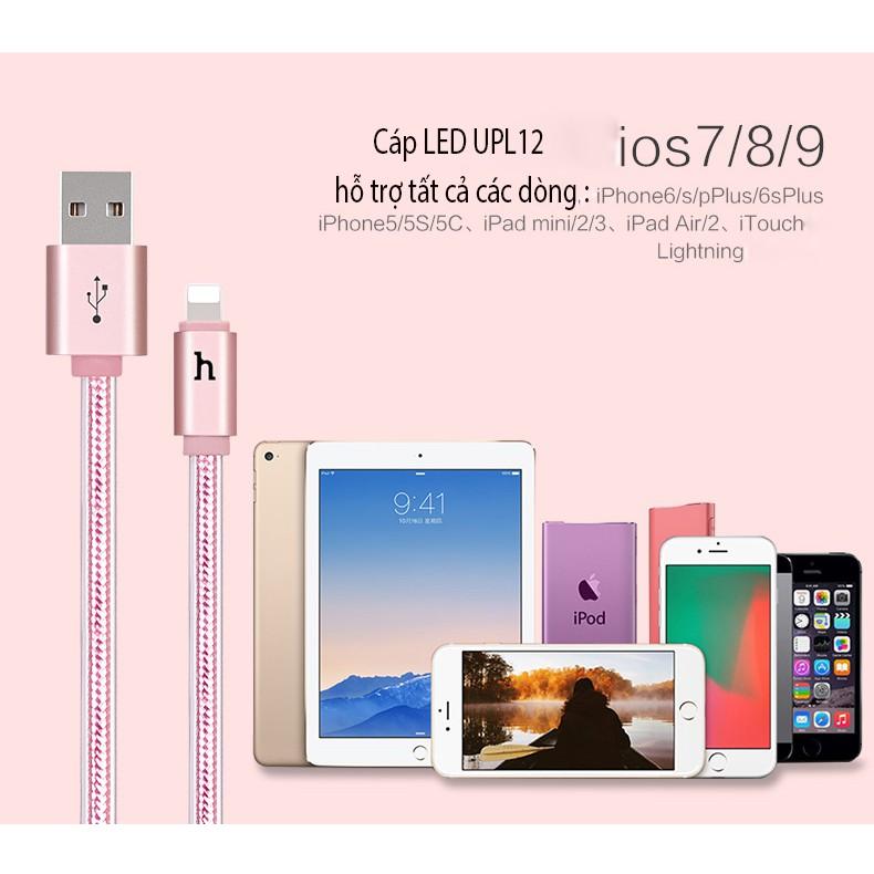 Cáp sạc iphone Hoco UPL12 chính hãng có đèn led báo pin đầy - 3528069 , 949001937 , 322_949001937 , 99000 , Cap-sac-iphone-Hoco-UPL12-chinh-hang-co-den-led-bao-pin-day-322_949001937 , shopee.vn , Cáp sạc iphone Hoco UPL12 chính hãng có đèn led báo pin đầy