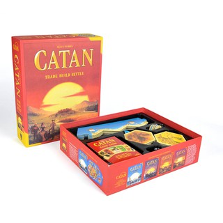 Trò chơi Board Game Catan English 5th Edition