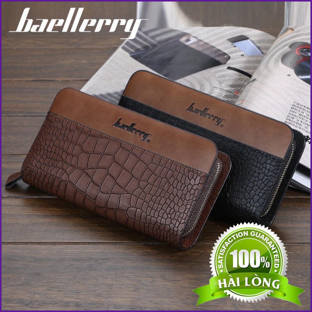 Ví Nam Dài Cầm Tay Baellerry VID01 Da Cá Sấu Đẳng Cấp Và Phong Cách 100% Hài Lòng .