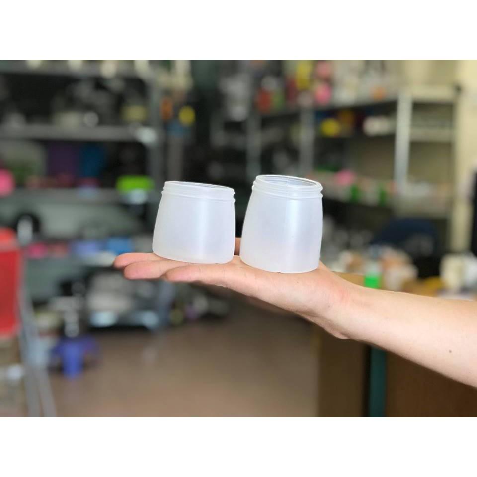 Hũ nhựa đựng sữa chua 160ml bịch 10cái