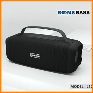Loa bluetooth Boombass L17 âm thanh siêu bass, kết nối được với tất cả các điện thoại, bluetooth 5.0