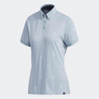 [Mã WABRD7 giảm 150K đơn 1 triệu] adidas GOLF Monogu Polo Shirt Nữ DW7627 thumbnail