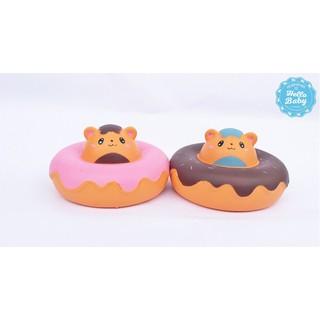 Squishy – Donut chuột hamster 2 màu (12cm) |Loamini565