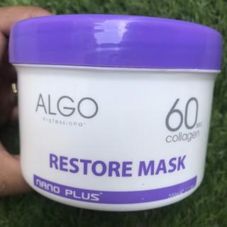 Mặt nạ dưỡng tóc Collagen 60s Algo Nano Plus 500ml ( Italia ) thumbnail