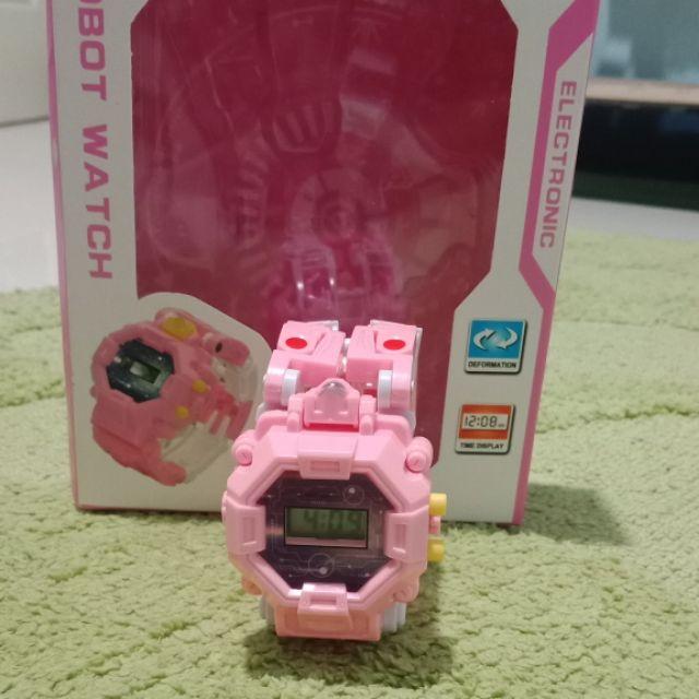 นาฬิกาหุ่นยนต์แปลงร่าง