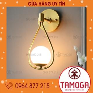 Đèn tường mạ vàng phong cách Bắc Âu DGT 5005, đèn trang trí đèn cầu thang, đèn phòng khách, đèn ngủ TAMOGA DGT 5005