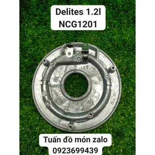 [Mã ELFLASH5 giảm 20K đơn 50K] Mâm Nhiệt Nồi Cơm Điện Delites 1.2 lít NCG1201 phụ kiện phụ tùng linh kiện chính hãng