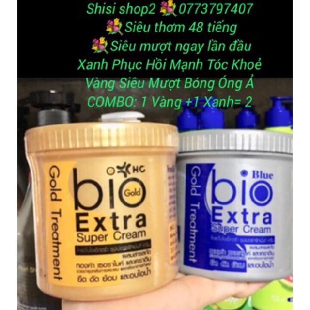 Combo 2 Ủ Tóc Siêu Mượt BIO EXTRA GOLG TREATMENT 500ml Thái Lan