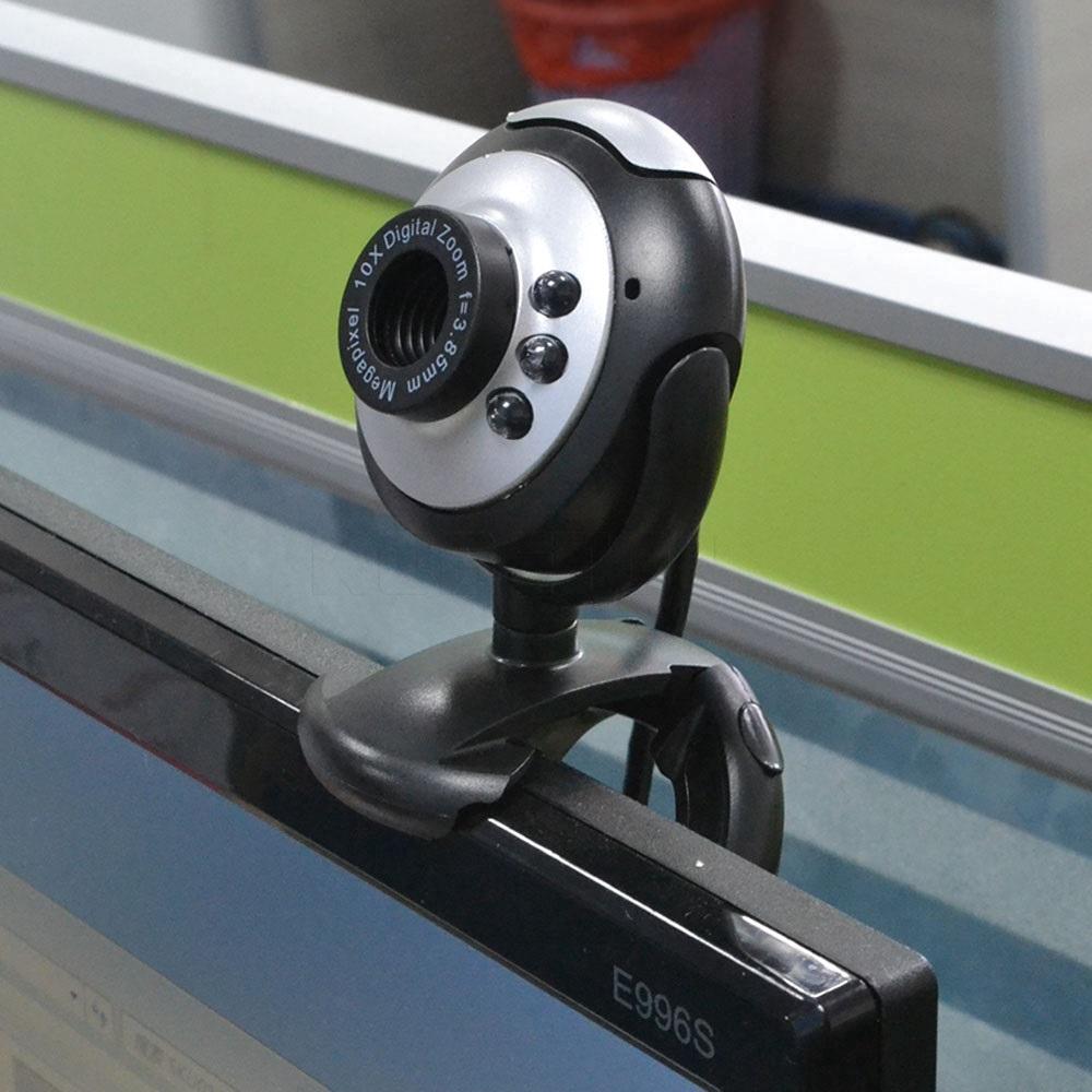 Webcam Hd Usb 2.0 12.0 Mega Pixels 6 Led Hd Với Micro