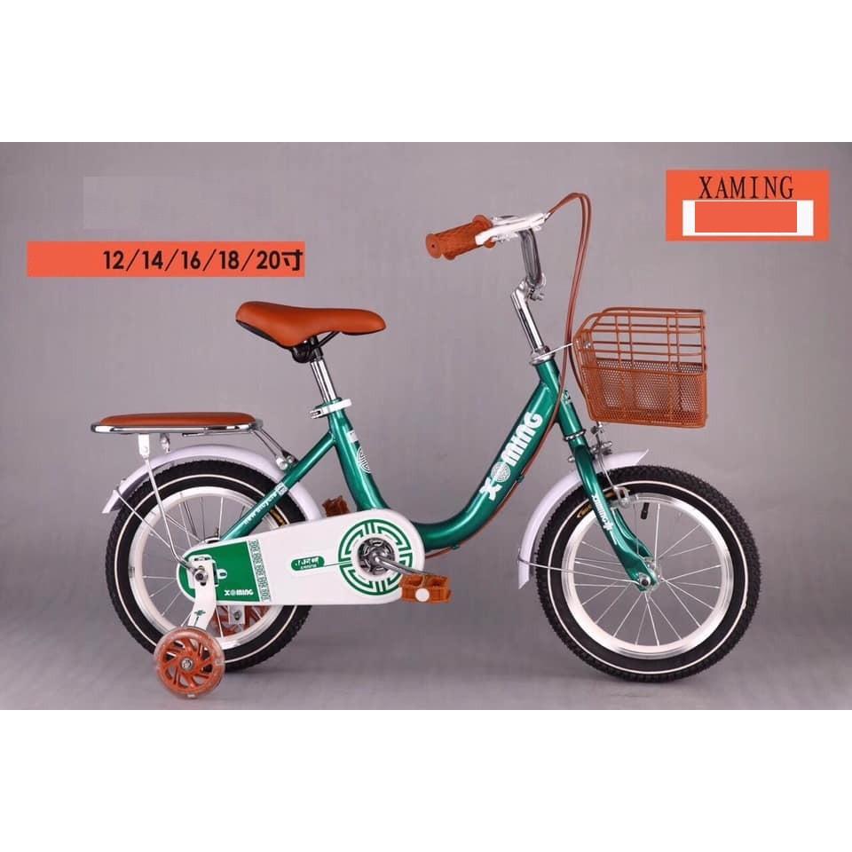 [Trợ giá] Xe đạp cho bé gái bánh 12, 14, 16 inch cho bé 3-4t, 4-5t, 5-7t