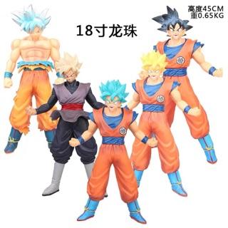 [ Bán lẻ ] Mô Hình Son Goku – Super Saiyan  Big size 45cm 