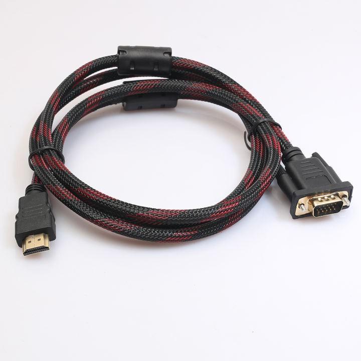Cáp HDMI to DVI 24+1 (Loại Tốt) - Dây bọc dù - Dài 1.5m