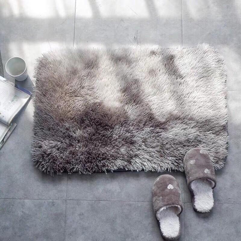 Thảm chùi chân lông loang cao cấp kt 40x60