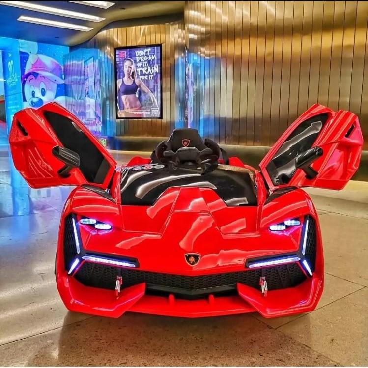 Ô tô xe điện đồ chơi vận động cho bé NEL 603 kiểu dáng thể thao
