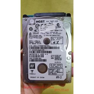 Ổ cứng laptop Slim Hitachi 500GB SATA thumbnail