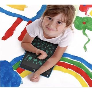 Bảng Viết, Bảng Vẽ Điện Tử Màn Hình LCD 12 Inch Tự Xóa Thông Minh Model 2019 |Tặng Kèm Bút Cảm Ứng